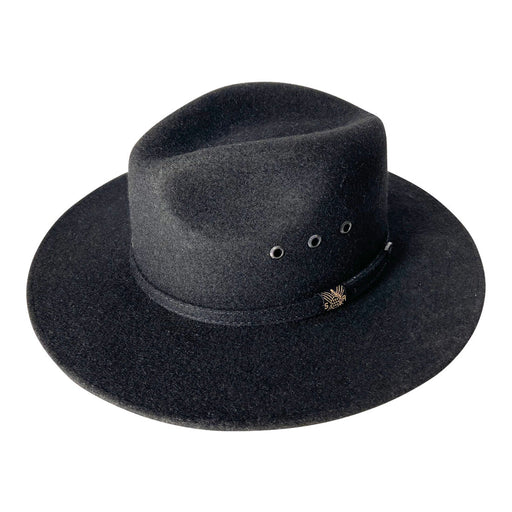 Indiana Eastwood Cowboy Hat Handmade from 100% Oaxacan Wool - Burnt Black
