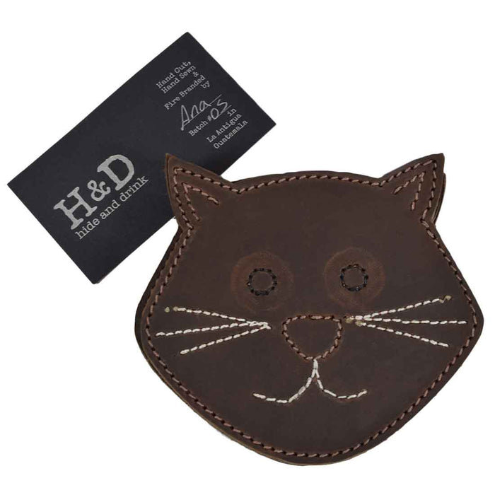 Whiskers Cat Coaster Set (6-Pack)