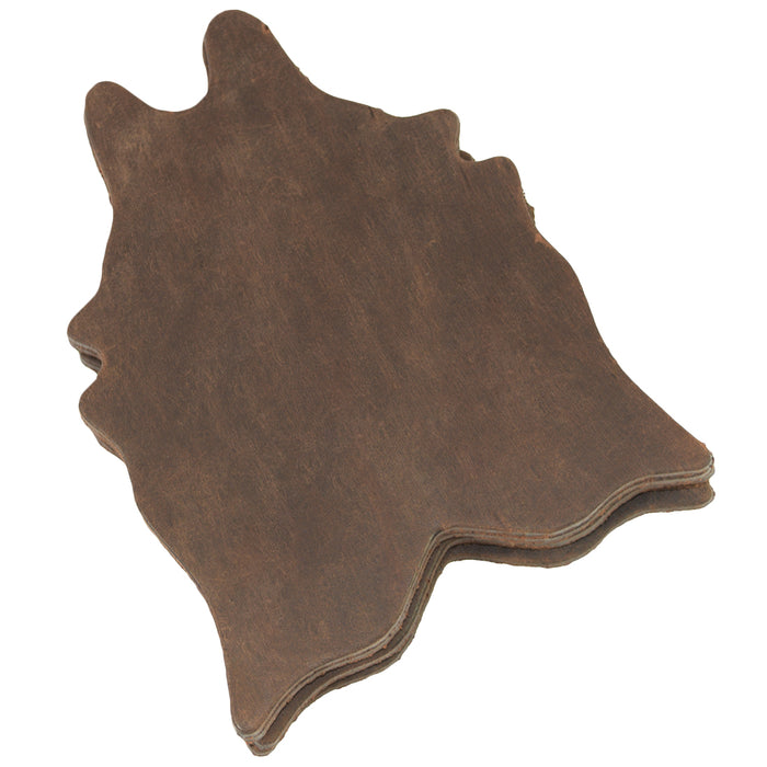 Cowhide Shaped Rug Coaster (6-Pack)