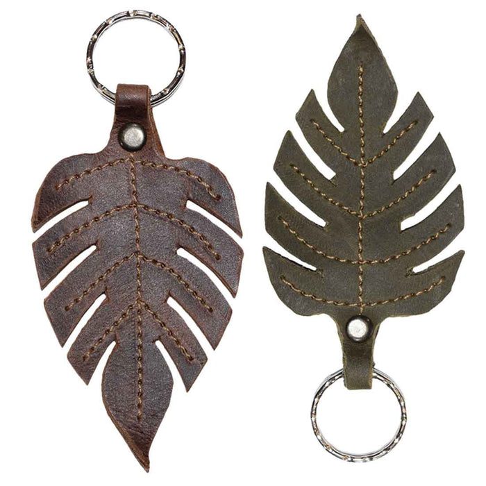 Compound Leaves Keychain