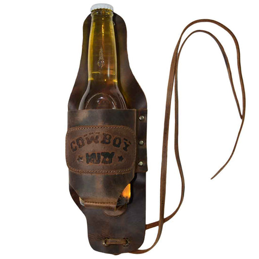 Beer Holster Stitched Designs