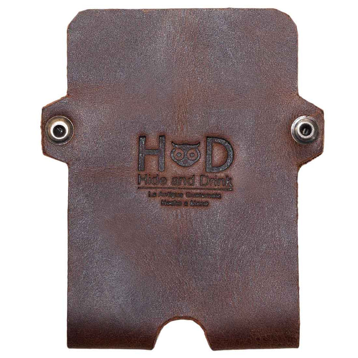 Double Rivet Card Holder