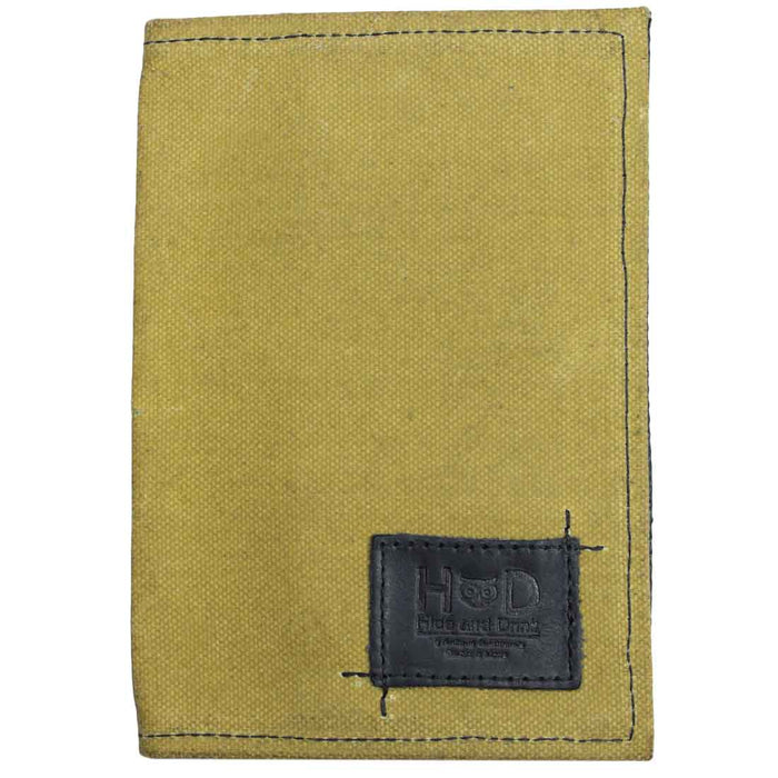 Waxed Canvas Field Notes Cover
