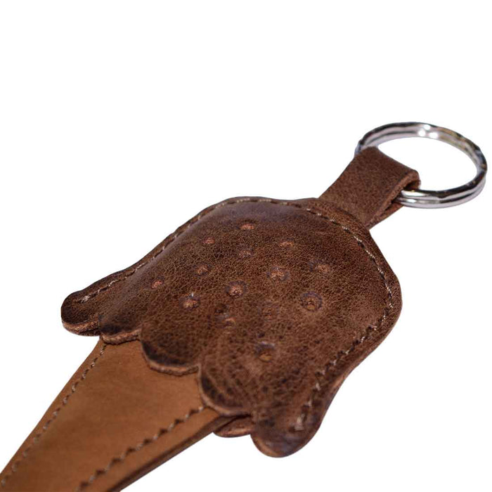 Chocolate Ice Cream Keychain