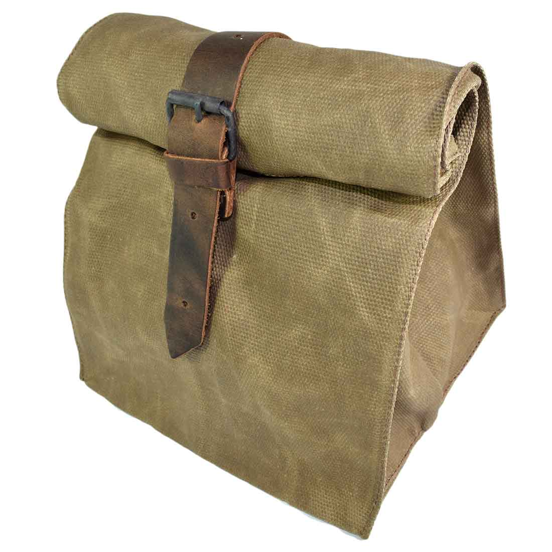 Waterproof Waxed Canvas Lunch Bag Handmade by Hide   Drink 41431a50c016c