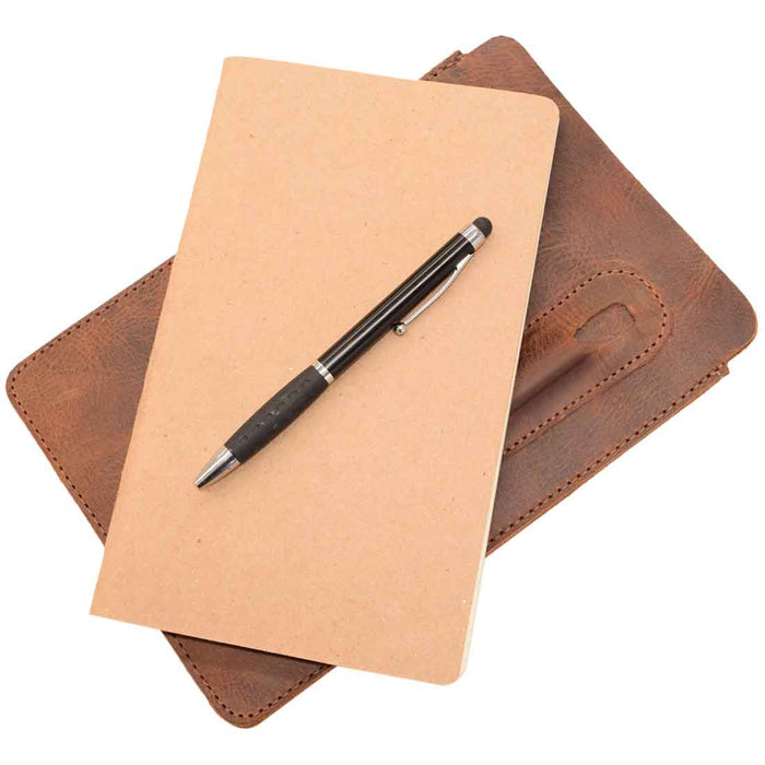 Notebook Sleeve & Pen Holder (5 x 8.5 in.) (Notebook Not Included)