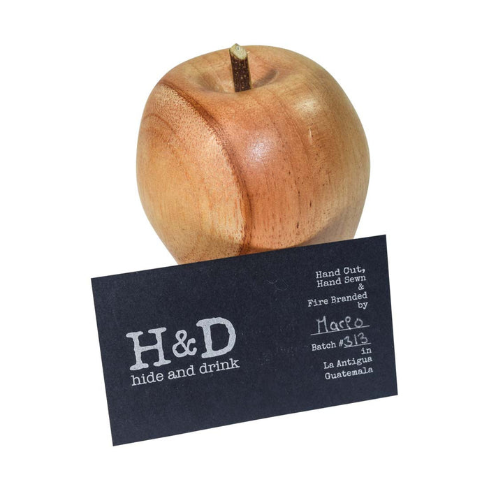 Wood Red Delicious Style Apple