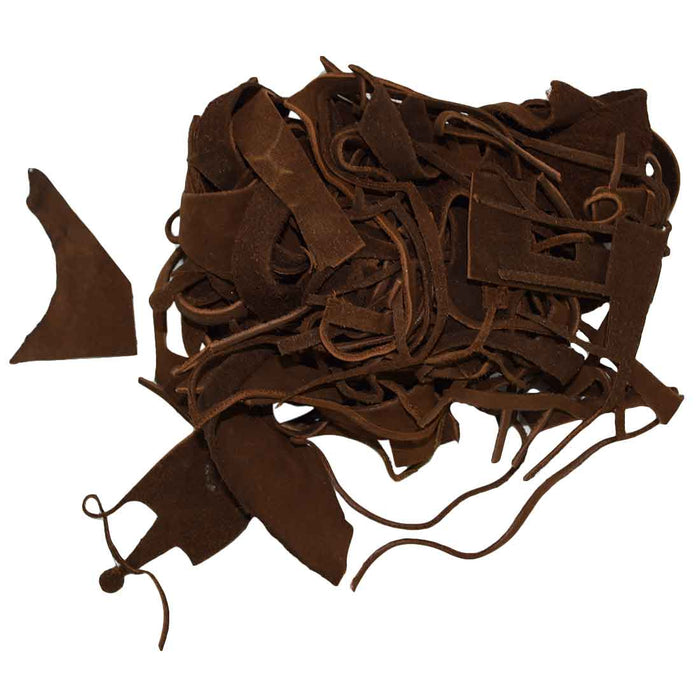 Cow Leather Chips & Scraps (8 oz)