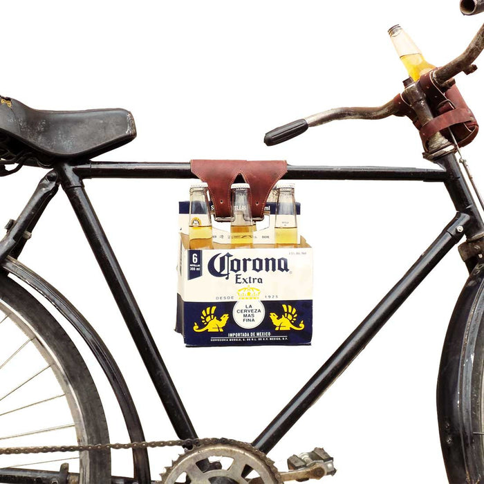 Six Pack Cinch (Bicycle Beer Carrier) by Hide & Drink