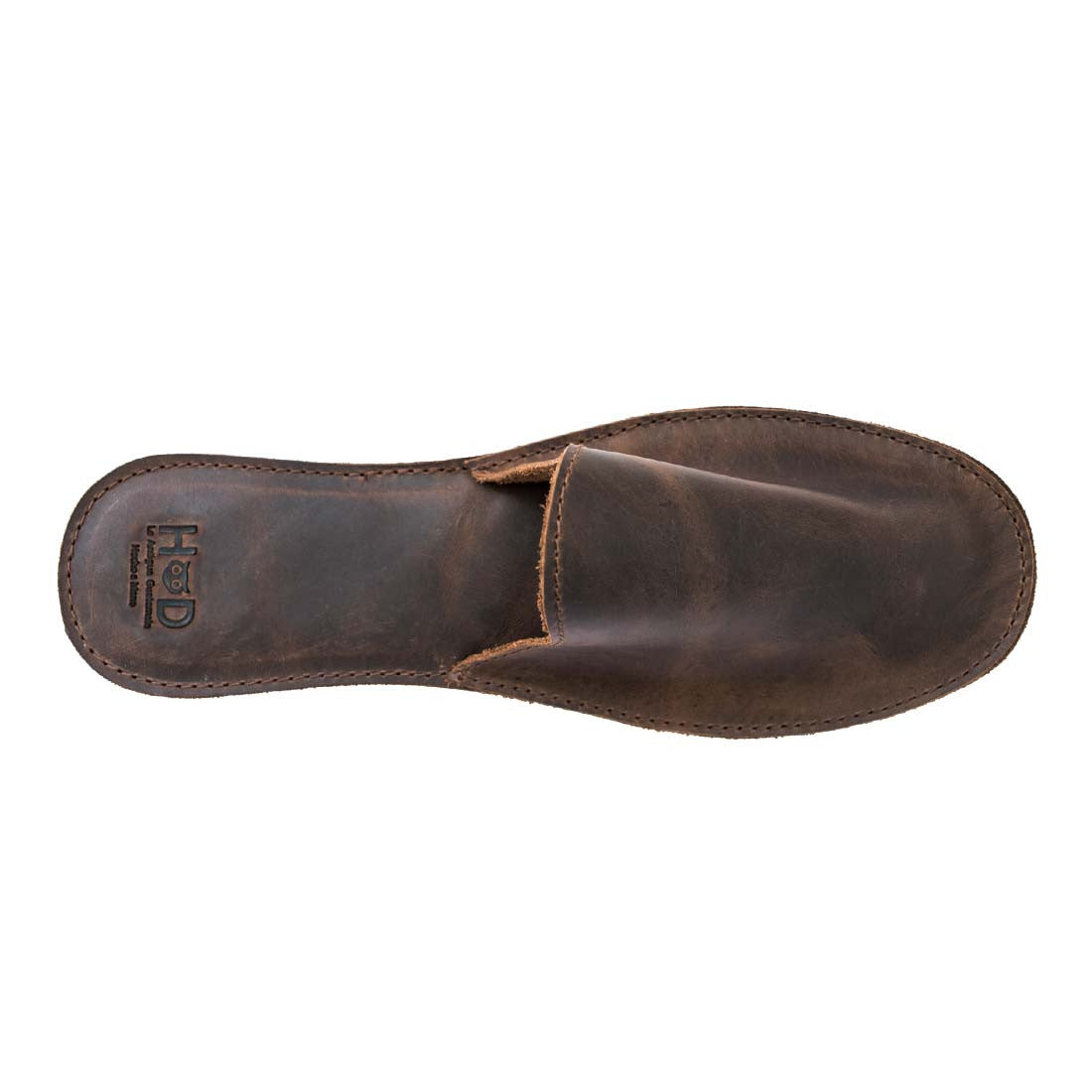 d356f3a998d0 Leather House Slippers - Hide   Drink