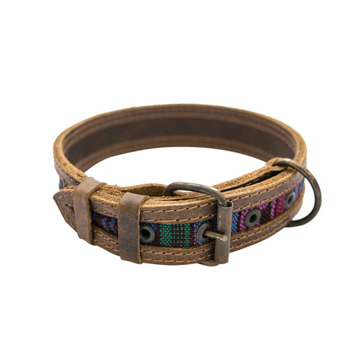 Rustic Mayan Dog Collar