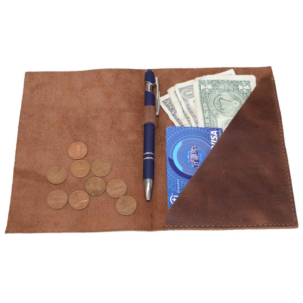 Bifold Check Presenter With Pen Slot