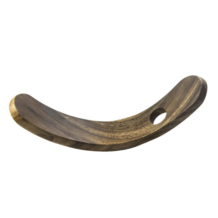 Wood Wine Holder Moon Shape