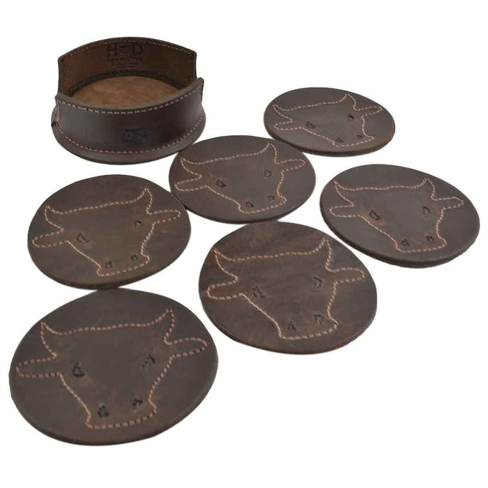 Raging Bull Classic Shaped Coaster Set (6-Pack)