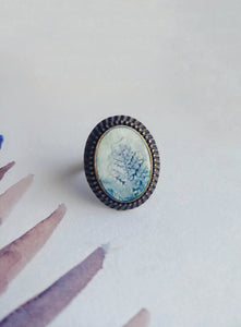 Hand Painted Ring  No. 14