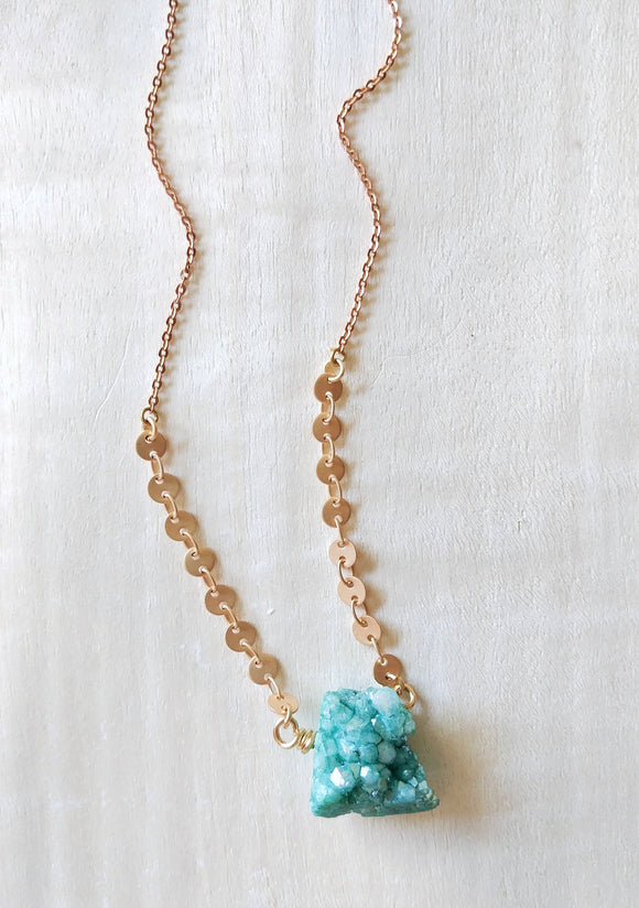 Druzy Necklace -