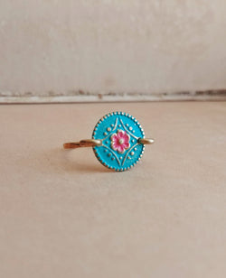 Minimalist Floral Ring - Floral No. 5