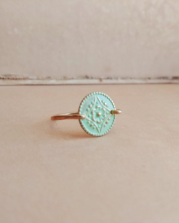 Minimalist Floral Ring - Floral No. 7
