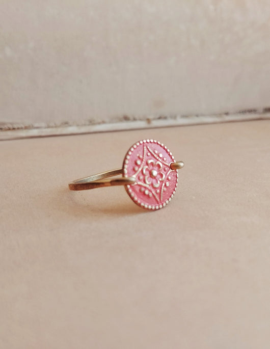 Minimalist Floral Ring - Floral No. 10