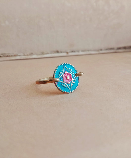 Minimalist Floral Ring - Floral No. 6