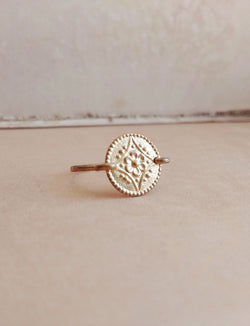Minimalist Floral Ring - Floral No. 4