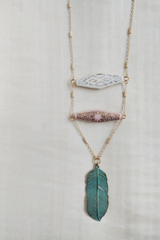 Bohemian Ladder Necklace - The Bohemian.