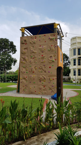 Climbing Wall at Peying Primary School