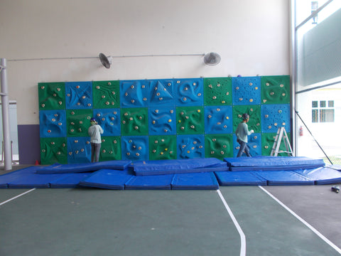 Bouldering Wall at Punggol Primary School