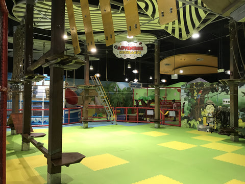 Challenge Rope Course at Explorer Kid, Downtown East, Parsir Ris