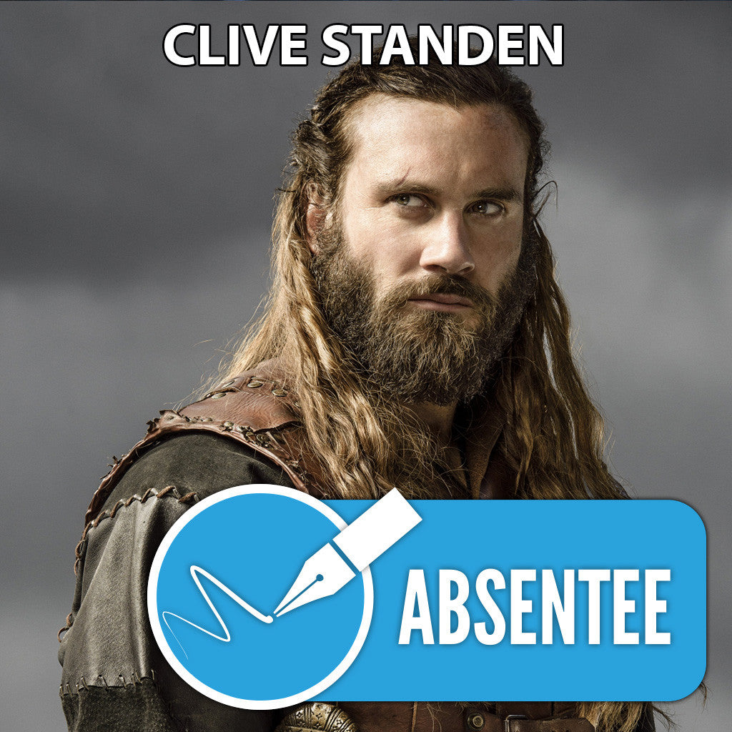 Clive Standen Absentee Autograph
