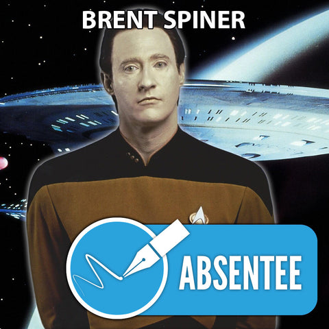 Brent Spiner Absentee Autograph