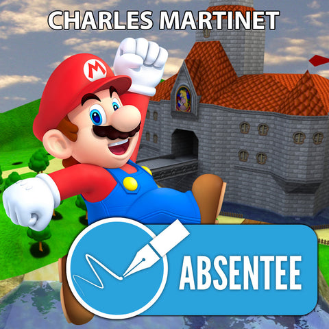 Charles Martinet Absentee Autograph