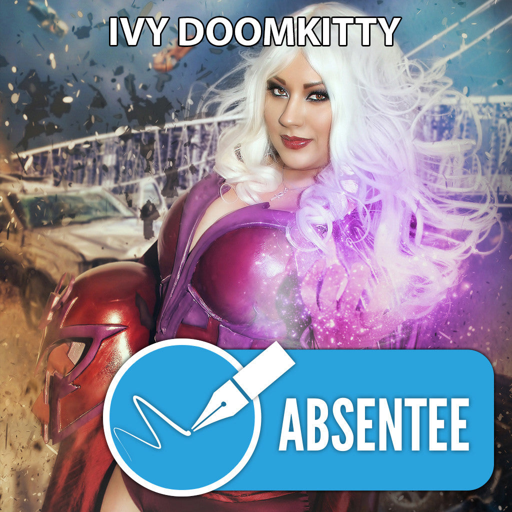 Ivy Doomkitty Absentee Autograph