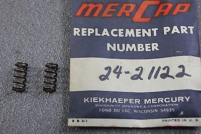 Mercury Kiekhaefer Outboard 24-21122 Mark 20H 55H Idle Adjustment Screw Spring