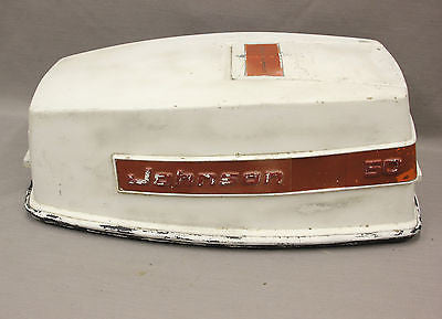 Johnson Evinrude 50hp Outboard Motor 384928 Top Cowl Cowling Cover Hood Upper