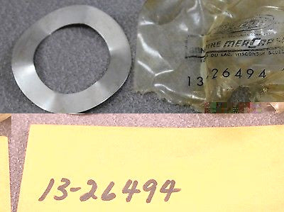 Mercury Outboard 13-26494 Wave Washer Mark 75A 78A 600 Retainer Cover To Carrier