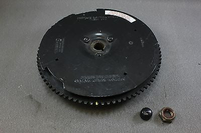 Force Mercury Outboard Flywheel FA658097 50hp 87-92 FCB3000A 1989 2 cylinder nut - NLA Marine