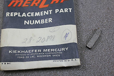 Mercury Kiekhaefer Outboard 28-20898 Key Keyway Flywheel Mark 20H