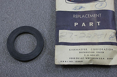 Mercury Outboard 27-22851 Gasket Fuel Filler Cap To Tank Mark 30H Mark 55H WH6A