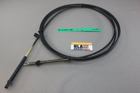 Mercury Outboard MerCruiser CC17914 14' 14ft Teleflex Shift Throttle Cable 600A