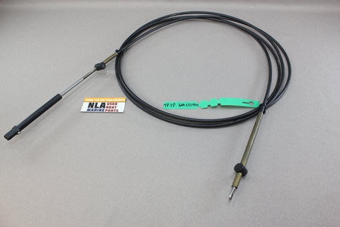 Mercury Outboard MerCruiser CC17915 15' 15ft Teleflex Shift Throttle Cable 600A