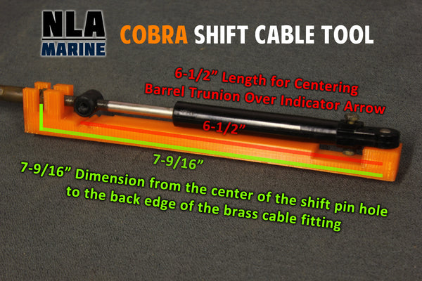 OMC Cobra Shift Cable Tool Set Replacement Adjustment Bellcrank Alignment  Tools