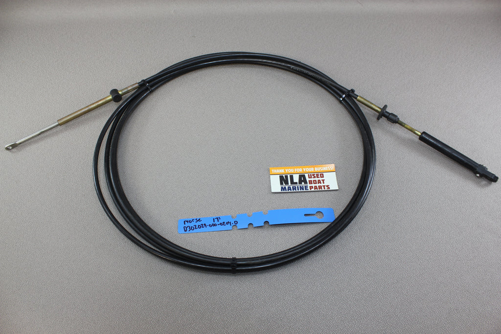 OMC Johnson Evinrude 17ft Outboard Shift Throttle Cable ... on