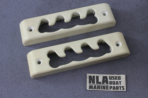 Boat Marine Bimini Cover Mounting Bracket Hardware Plastic Side Base Mount White