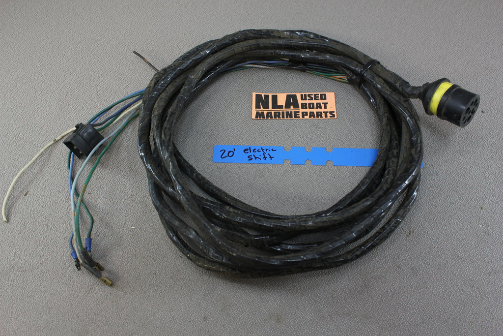 omc stringer electric shift wire wiring harness 20 ft dash yellow rh nlamarine com LS1 Wiring Harness Wiring Harness Diagram
