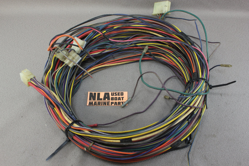 MerCruiser OMC Wire Wiring Assorted Multi-colors colored Harness ...