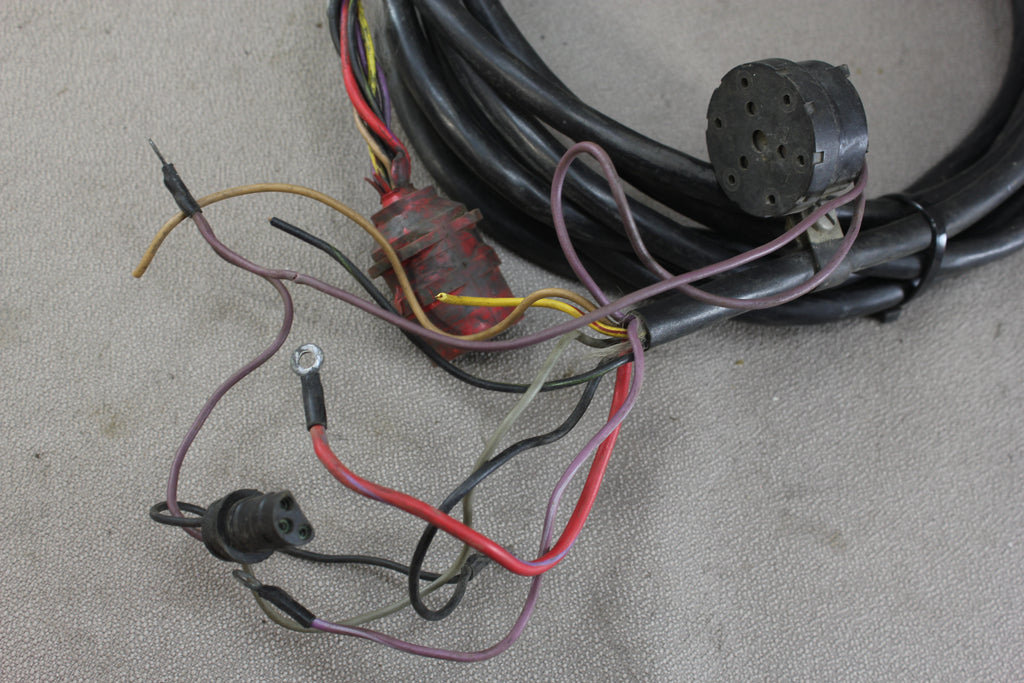 alternator wire harness wire size johnson evinrude red plug wire wiring harness outboard ...