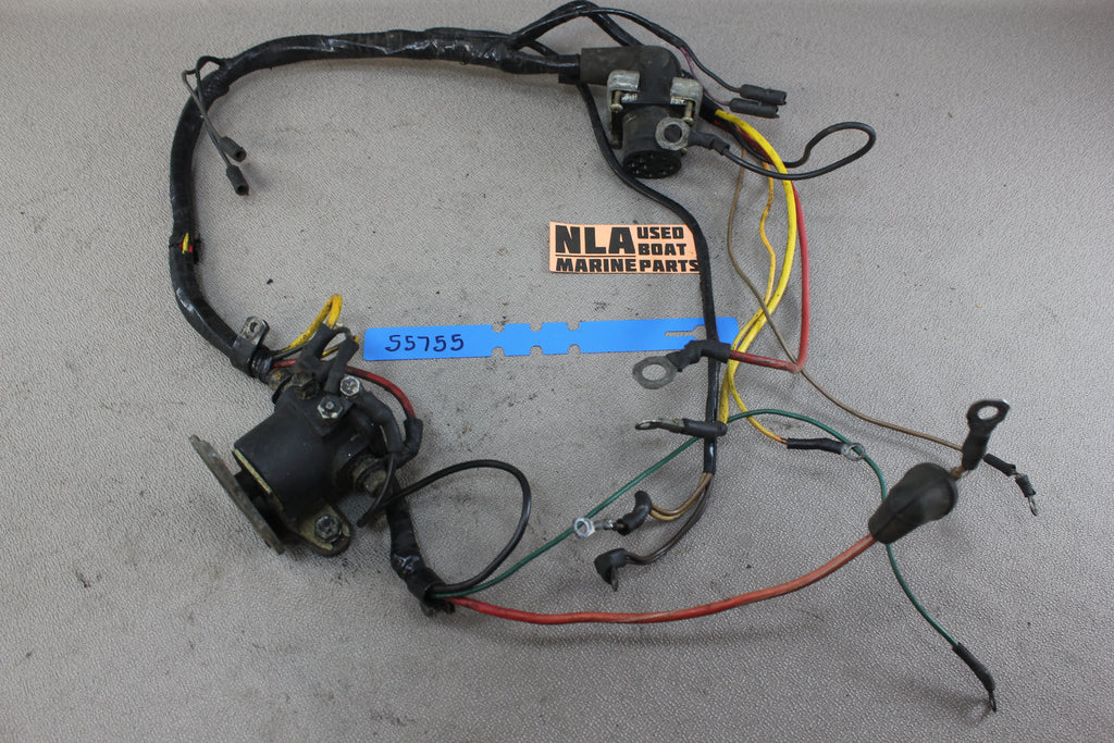 mercruiser 55755 84-96288a1 engine wire wiring harness 1969-72 120 140  2 5l  tap to expand