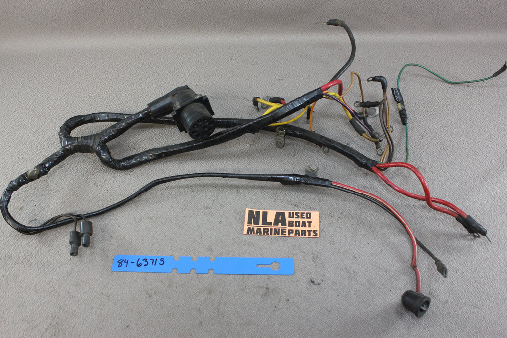 MerCruiser 84-63715A1 Engine Wire Wiring Harness GM 120hp 140hp 2.5L on
