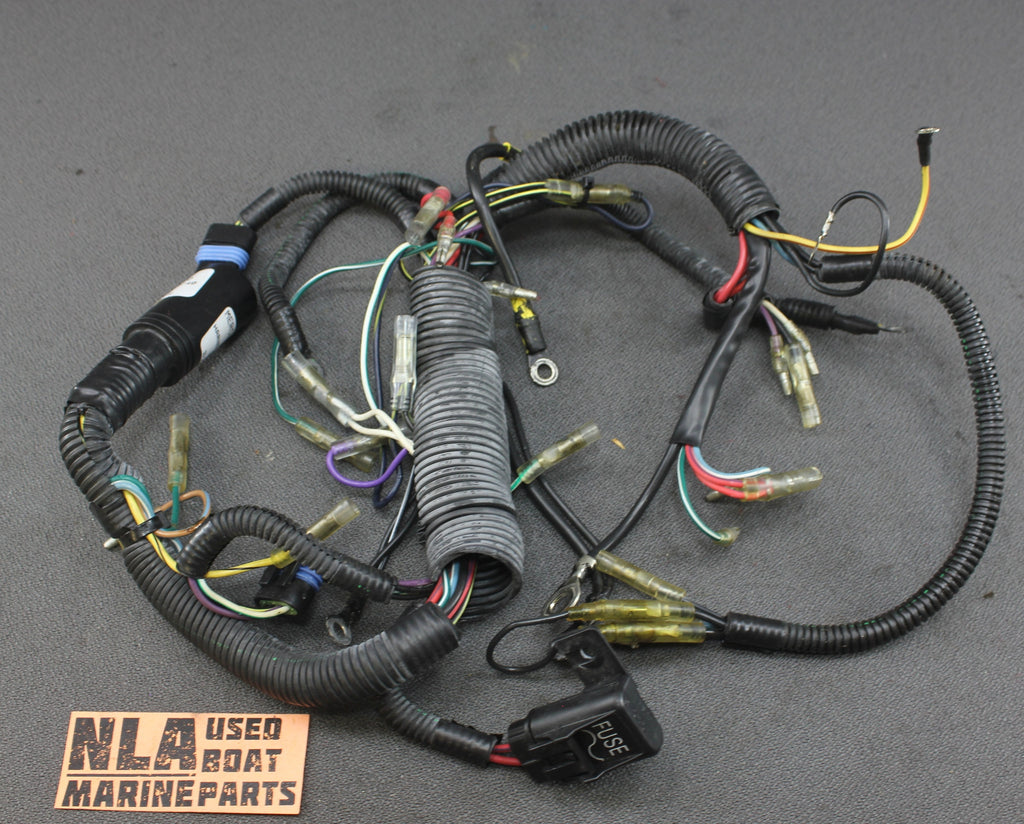 mercury outboard 40hp 30hp engine wire wiring harness 84 ... mercury outboard motor wiring harness #7